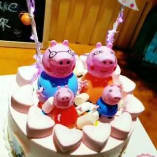 #蛋糕##美食#小猪佩琪🐽🐷