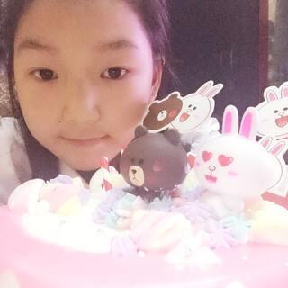 #我过生日啦!#自己做生日蛋糕,好开心