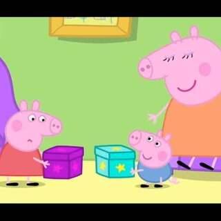 #宝宝##小猪佩奇##粉红猪小妹# 猜猜佩奇盒子里的是____________?😊