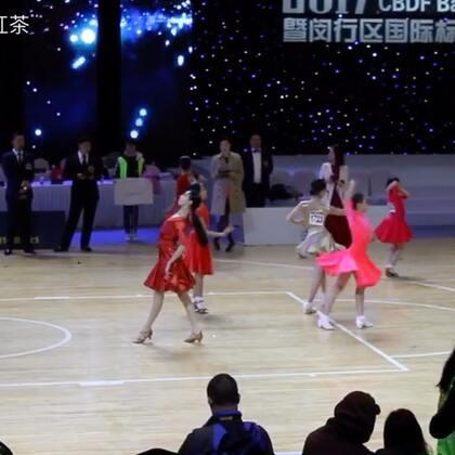 12岁A组决赛伦巴#2017第31届CBDF全国锦标赛##舞蹈##拉丁舞#
