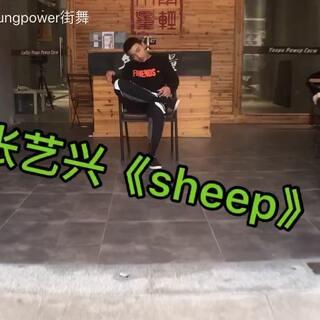 #张艺兴sheep舞##舞蹈##爱舞蹈爱生活#基础很重要,各位不要急着跳成品舞。韩舞班的第二支成品舞。总有人会不参与拍摄