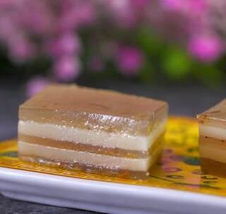 破解华妃最爱的千层水晶马蹄糕,再也不用担心被赏一丈红了 #美食##马蹄糕##我要上热门#