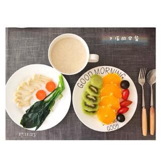 ✨夕溪的早餐✨今日早餐简单快捷👍#低卡减脂餐##美食##减肥瘦身#🌹🌹🌹