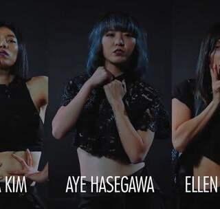 【用肢体表达态度:三个力量超强的女舞者,上演黑色诱惑】最近超级火的一首舞曲《Afterhours》,受到众多舞者的青睐,包括前面发的Dytto和著名的Kinjaz~这个版本则是Ellen Kim,Lia Kim,Aye Hasegawa三位老师强强联合打造的黑色诱惑~BGM:Afterhours - TroyBoi #舞蹈##编舞##jazz#