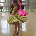 上课练习中#舞蹈##伦巴#