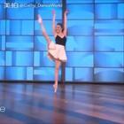 在Ellen Show的NYC BALLET首席#舞蹈##芭蕾#
