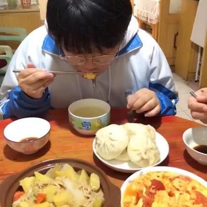 #吃秀##潇岩的早餐#早上好😃😃