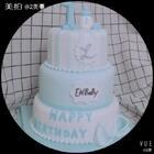 #2美做蛋糕#男宝翻糖蛋糕