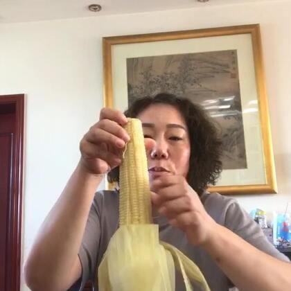 今天的中午饭。煮的野兔 我老妈自己种的玉米好好吃#吃秀##热门#谢谢🙏#美拍助手,我要上热门#