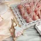 这天太冷了你们赶紧把秋裤穿上😂,粉色主题婚礼甜品台