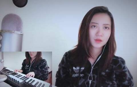 【潘潘PANL美拍】#音乐##弹唱##粤语# 验伤(cover...