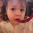 带#小团子#第一次尝试日料,一上来就是鳗鱼饭,还算对口味😅#宝宝##旅游那些事#