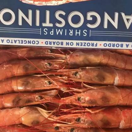 美食##我要上热门##我要上热门@美拍小助手#🔥🔥粉丝大红虾👍👍自己的做法,希望大家喜欢💖💖