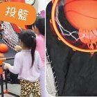 爸爸買了投籃機!竟是為了... ☆體育課☆ #寶寶#