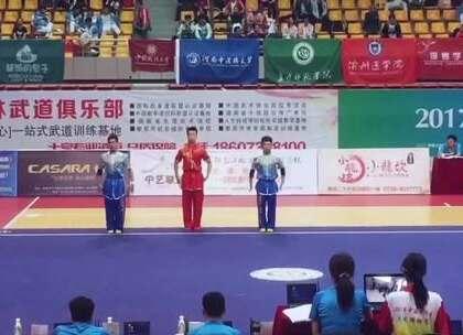 武术锦标赛三人对练变成超级英雄对战