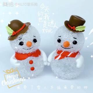 圣诞节创意雪人⛄小夜灯,用到的材料在http://ailto.taobao.com 有售哦👻这次评论里输入bl,让陶陶看看你打出的是什么?点赞+转发+评论抽一位宝宝送24色软陶泥#手工##爱乐陶##圣诞节手工diy#陶陶今晚七点直播,宝宝们来玩呀!