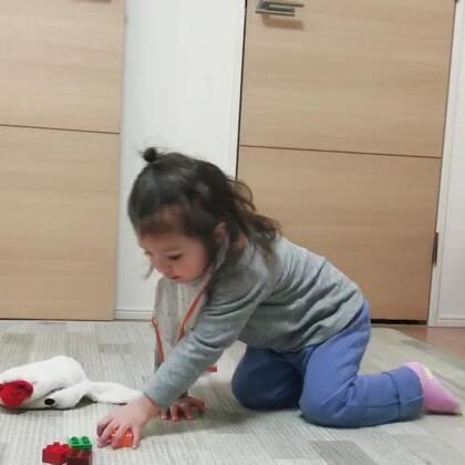 ☺爱整理的好孩纸#小团子##混血萌宝#