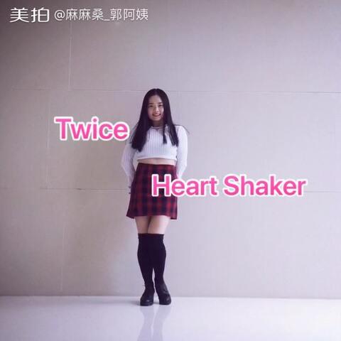 【麻麻桑_郭阿姨美拍】#舞蹈# 🎄Twice-Heart Shaker 🎄...