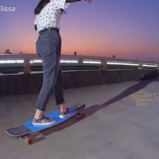 一点视频的花絮剪辑辛苦摄影师了@civicsk8 #运动##长板##长板女孩##长板日常#