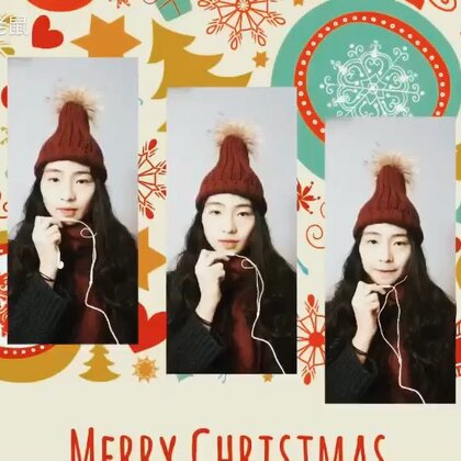 """一个人""""卡""""了一首#pentatonix#的#That's Christmas to Me#大家圣诞节快乐哟!@音乐频道官方账号 #阿卡贝拉#"""
