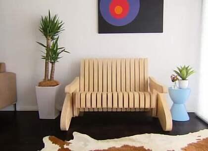 DIY创意百变椅,很有创意啊#DIY##生活DIY教程#
