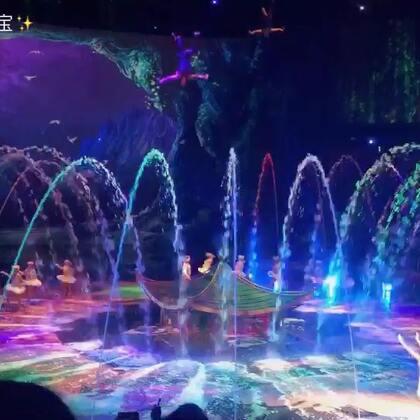 这是第三次看水舞间了,有公主情节的我,怎么都看不够呀☺️☺️#澳门水舞间#