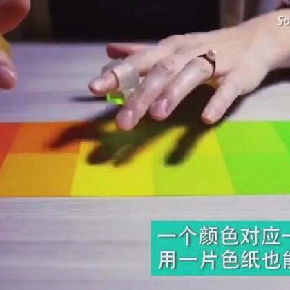 #玩转科技#在纸上画一个彩色钢琴或鼓,你就可以用手指演奏......