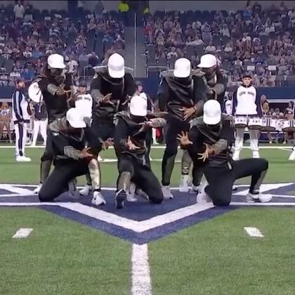 "Kinjaz | Dallas Cowboys Halftime Show (OFFICIAL). Choreography by: The Kinjaz Music by: Ellie Goulding ""High For This""#kinjaz##舞蹈##urban dance#"