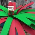 自製-魔法聖誕樹DIY,小朋友會很開心哦^^ #模仿汝汝變魔術##寶寶##魔術#