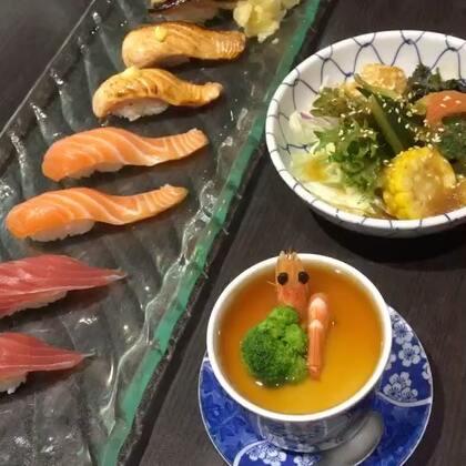 #美食#有喜欢吃寿司的小仙女吗?我超级喜欢吃寿司 但是我不喜欢吃生鱼片😂#台湾美食##吃秀#