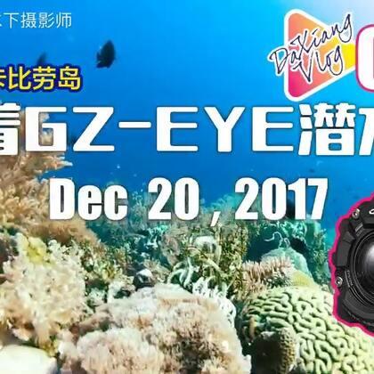 #日志# VLOG-034带上卡西欧运动相机潜水去,全程使用卡西欧GZ-EYE拍摄#潜水##水下摄影#