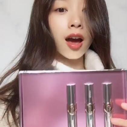開箱❤️好水潤顯色,擦起來好像唇油、唇露😍#ysl#