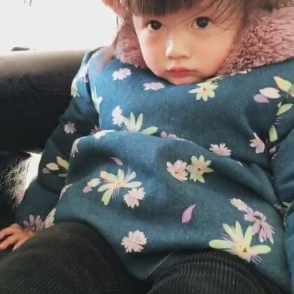 #宝宝#美美的吹个头发