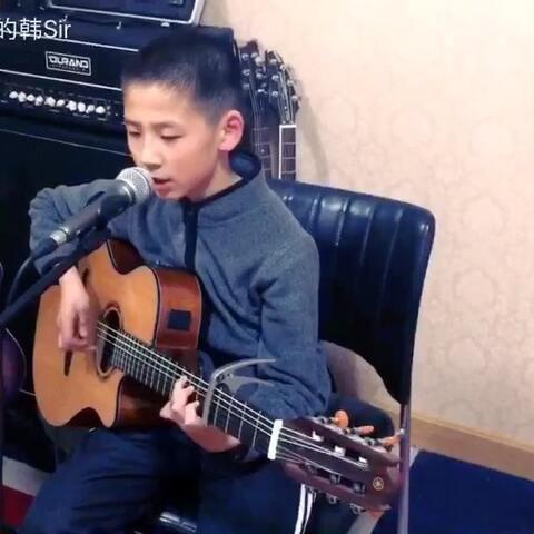 宸阳同学 同桌的你 吉他 音乐 音乐视频 弹吉他的韩Sir的美拍