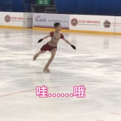 #精选##花样滑冰#不错哦😄继续努力💪