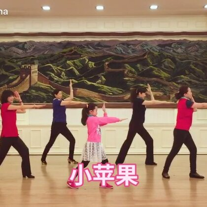 """#广场舞# 2016年""""三八妇女节""""的表演😄"""