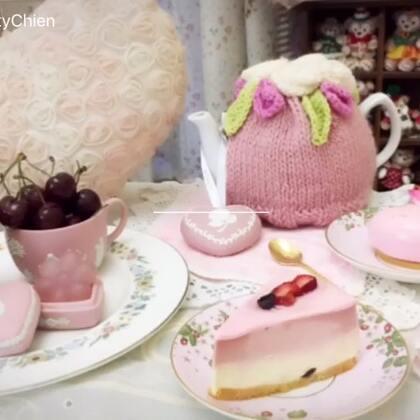 2018第一Po~Wedgwood粉紅草莓季晚茶