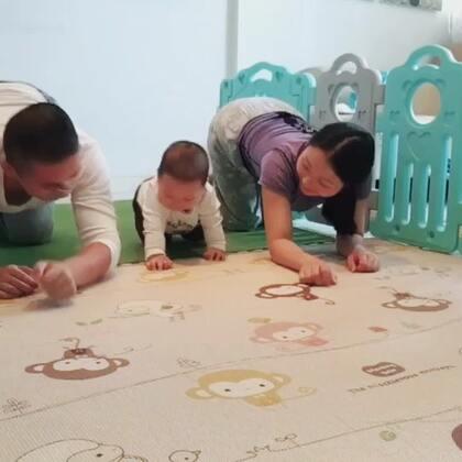 训练宝宝爬行时光#宝宝#