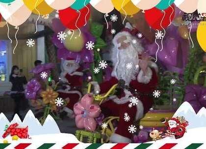 圣诞老人PK长腿辣妹!重庆欢乐谷上演圣诞表演大集合#重庆##欢乐谷##圣诞节#
