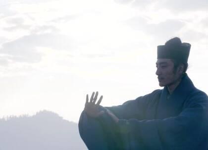 道长阳光下打太极,真是仙风道骨😍😍 #道士##尼泊尔##旅行#
