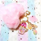 #手工##diy另类创意手作##我和我的奶油皇后#冬天来了,粉色爱心毛球搭配可爱兔兔让你的包包绝对吸睛,喜欢的包包记得来砸单啊!店铺开始卖成品史莱姆了,还有蜂巢海绵也已上架记得去看看哦https://creamqueen.taobao.com
