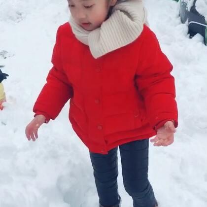 #2018年第一场雪#❄️#宝宝#