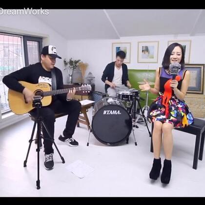 #音乐# Wanne be ,cover by 小小,鼓手:罗贝,吉他:@郝浩涵DreamWorks