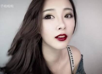 欧美辣妹系列妆容,小可爱们动动你的小手指点个赞。☺#华公子美妆记录##我要上热门#