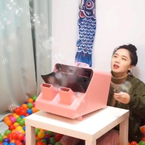 【孔留可美拍】大王挑战用泡泡填满房间啦,真的...