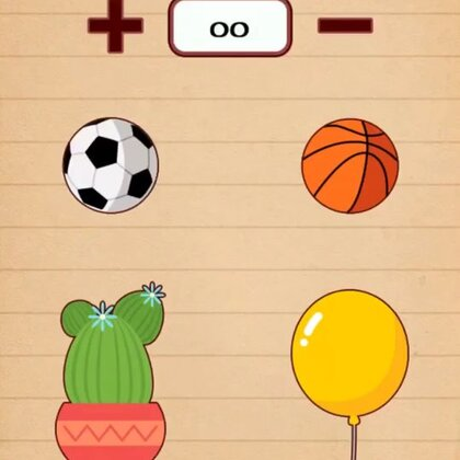 #才才游戏配音秀##游戏##精选#图中一共几个球?