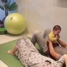 带娃就是减肥啦!#宝宝##运动#