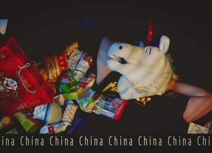 """角角""""饥渴嘻哈""""MV《China》毒家发布!谁说trap不能正能量?#音乐##热门##海外#"""