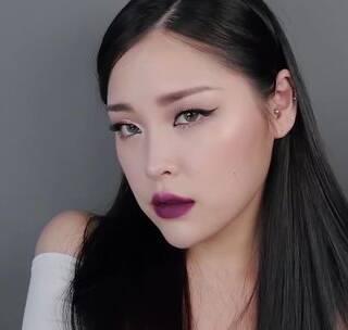 #美妆时尚##我要上热门#亚洲人不适合欧美妆容?那是因为没找对化妆方法~试试这款冷艳的粉色欧美妆容吧~😁😜#欧美妆容#