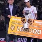 看看我的徒弟@高群翔Tony 赢了中国最大的滑板比赛!他现在是中国最牛的滑手!快快关注他!#滑板##运动##极限运动#